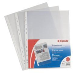Buste a foratura universale Copy Safe Esselte - Deluxe 22x30 cm lucida - 395097500