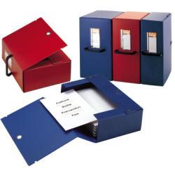 Cartelle portaprogetti Big Sei Rota - Dorso 12 - 25x35 cm - blu - 68001207