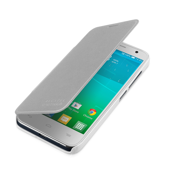 FLIP COVER IDOL 2 MINI SILVER COLOR