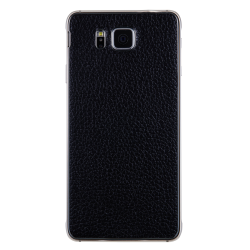 REAL LEATHER COVER BK GALAXY ALPHA