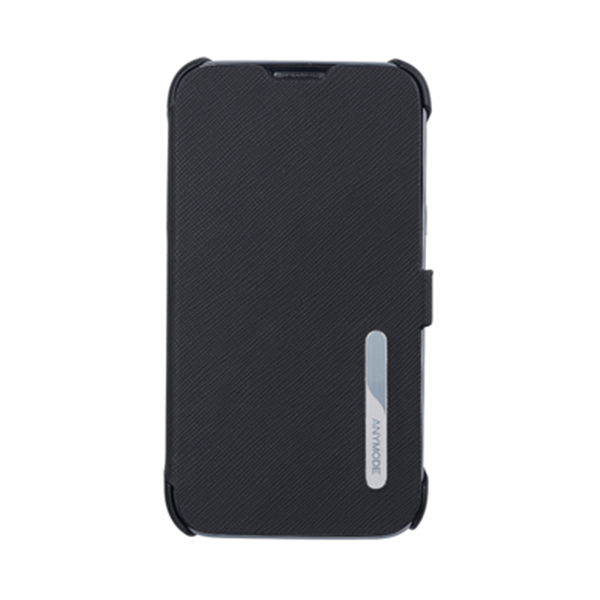 FLIP CASE BLACK GALAXY NOTE2