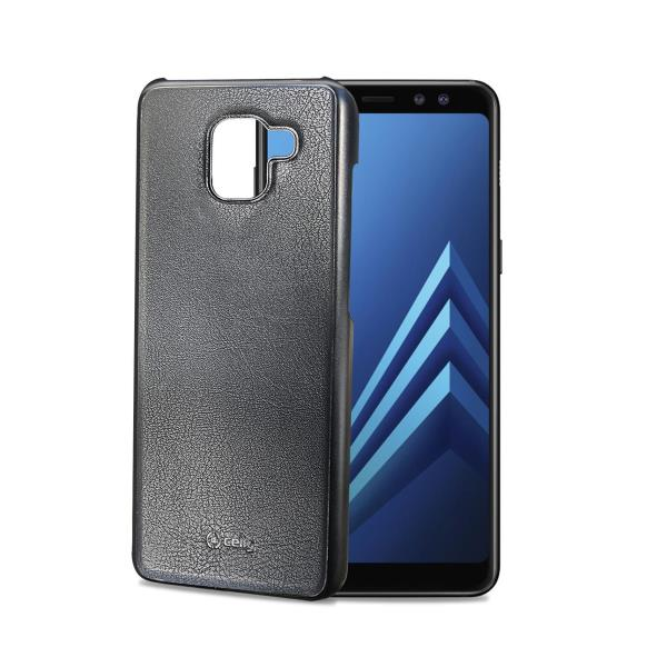 GHOST COVER GALAXY A8 BK