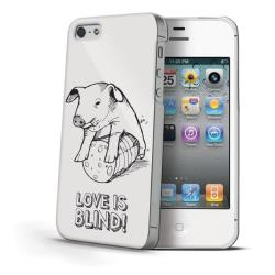 LOVE IS BLIND COVER PIG IPHONE 4S/4