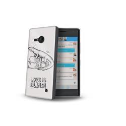 LOVE IS BLIND COVER CROCO LUMIA 735