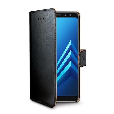 WALLY CASE GALAXY A8 PLUS 2018 BLAC