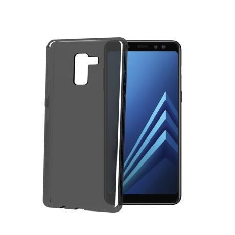 TPU COVER GALAXY A8 2018 BK