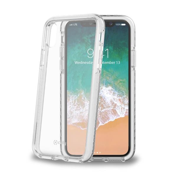 HEXAGON COVER IPHONE X WH
