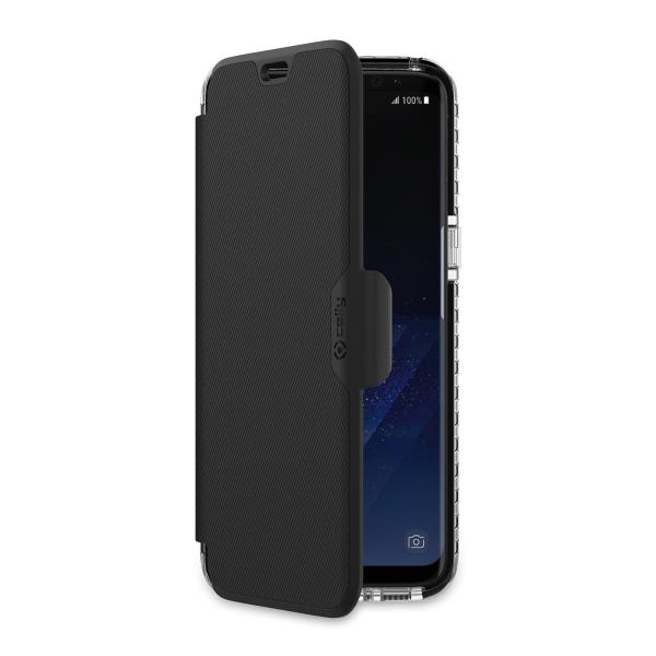 HEXAWALLY CASE GALAXY S8 BLACK