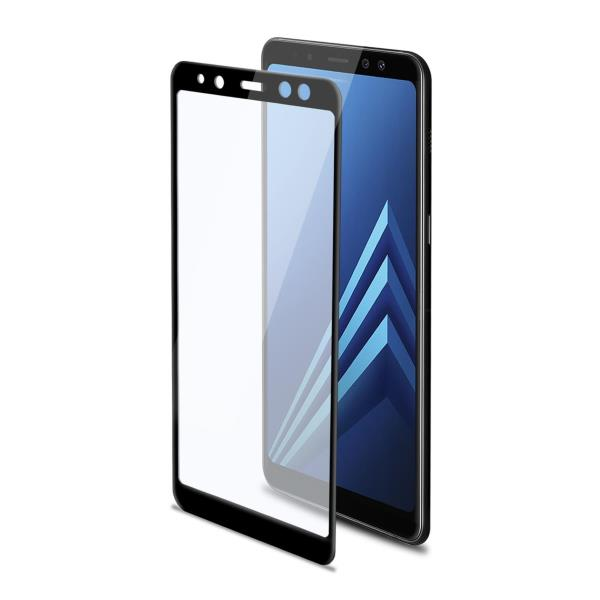 3D GLASS GALAXY A8 PLUS BLACK