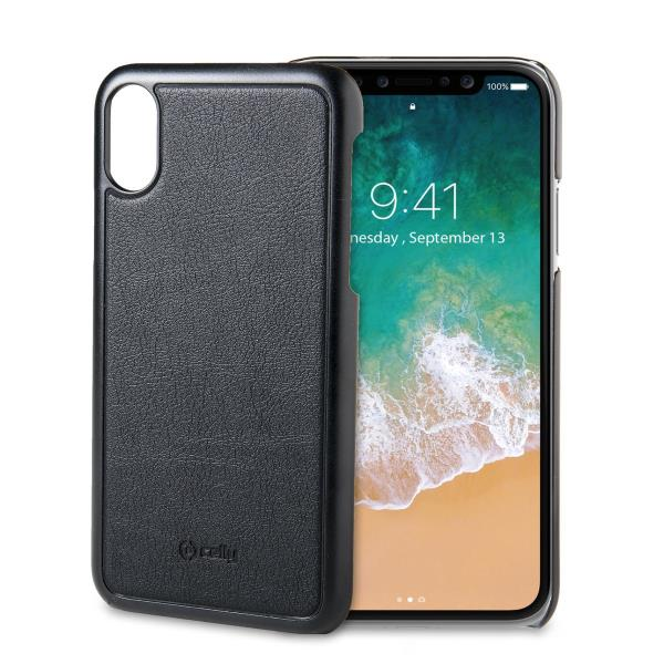 MAGNETIC COVER IPHONE X BK