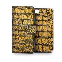 GOLD CROCODILE AMBO FOR IPHONE 6