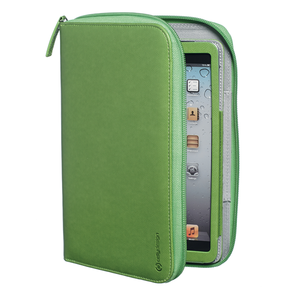 ORGANIZER GREEN IPAD MINI/2/3