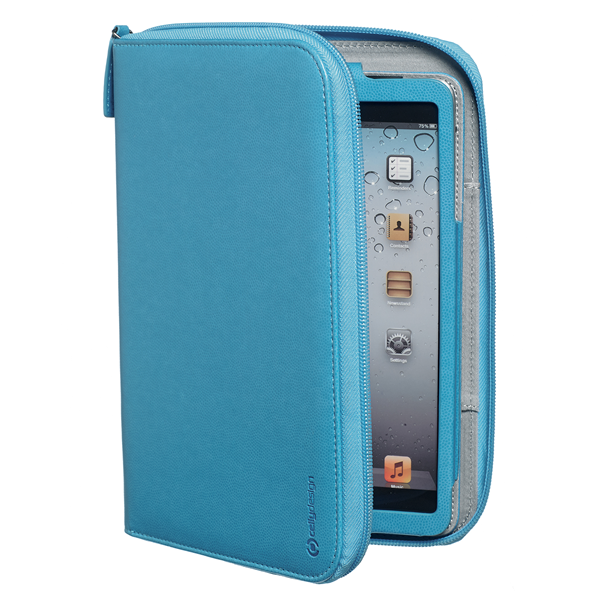ORGANIZER CYAN IPAD MINI/2/3
