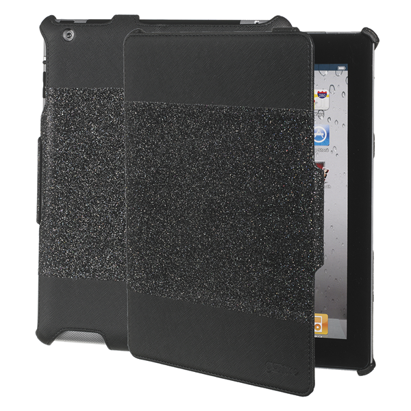 BOOK GLITTER BLACK IPAD2