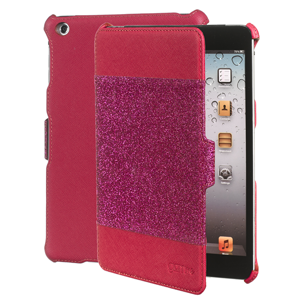 BOOK GLITTER FUCSIA IPAD MINI/2/3