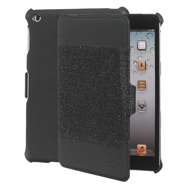 BOOK GLITTER BLACK IPAD MINI/2/3