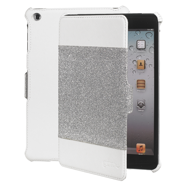 BOOK GLITTER WHITE IPAD MINI/2/3