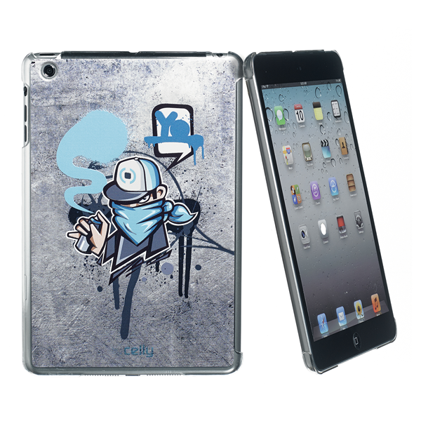GRAFFITI COVER CYAN IPAD MINI/2/3
