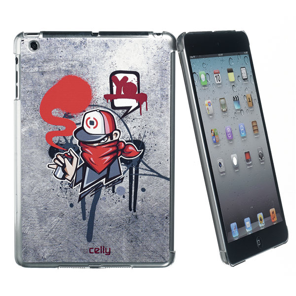 GRAFFITI COVER RED IPAD MINI/2/3