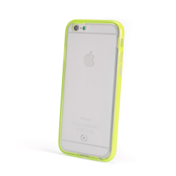 BUMPER COVER FLUO IPHONE 6/6S YELLW
