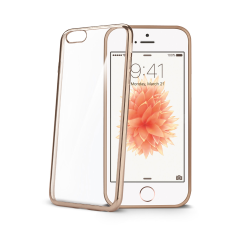 LASER COVER IPHONE SE GOLD