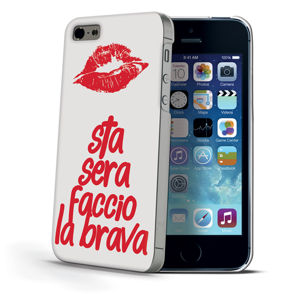 COVER DESIGN BRAVA IPHONE SE/5S/5