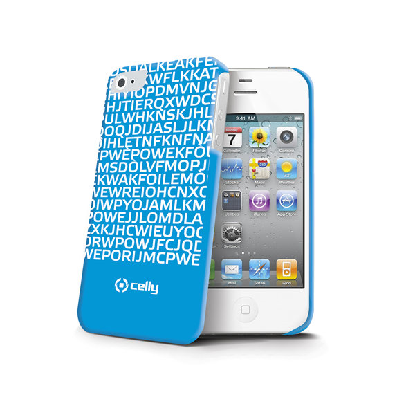 COVER MESSAGE BLUE IPHONE 4S/4