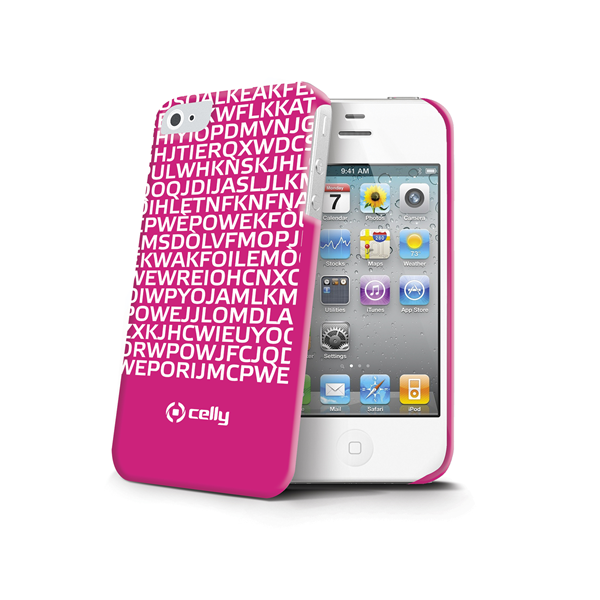 COVER MESSAGE FUCSIA IPHONE 4S/4