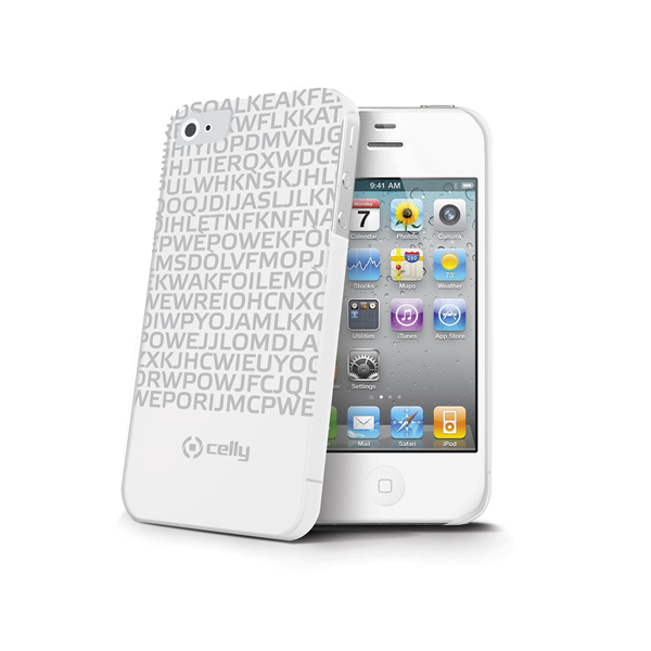 COVER MESSAGE WHITE IPHONE 4S/4