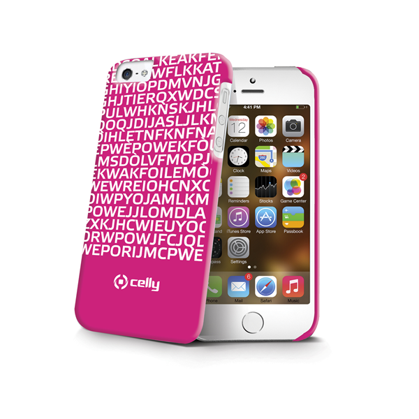COVER MESSAGE FUCSIA IPHONE SE/5S/5