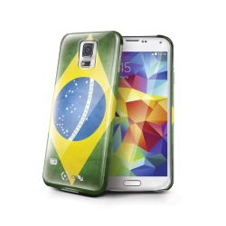 BRASIL FLAG COVER GALAXY S5