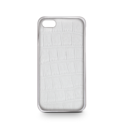 WHITE CROCODILE COVER FOR IPHONE 6