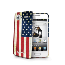 USA FLAG TPU SAM. GALAXY S ADVANCE