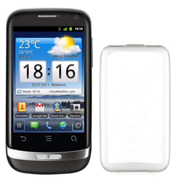 TPU COVER LUMIA 610 WHITE
