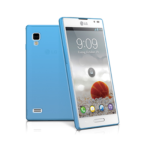 TPU COVER OPTIMUS L9 LIGHT BLUE