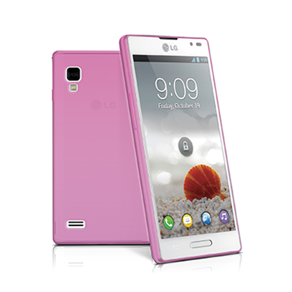 TPU COVER OPTIMUS L9 PINK