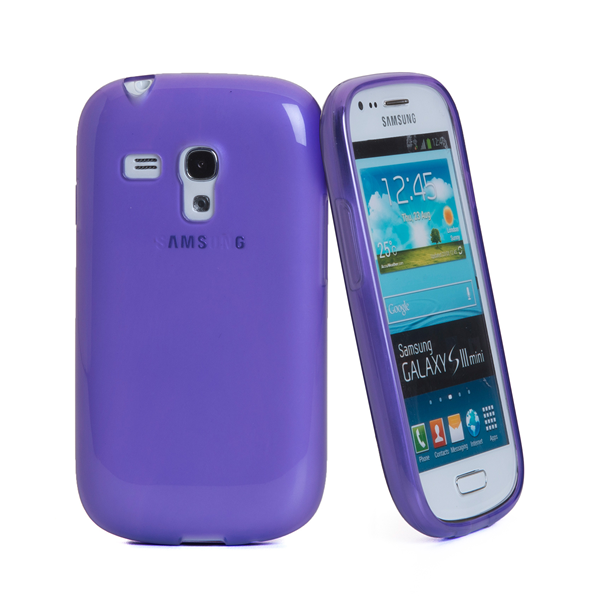 TPU COVER GALAXY S3 MINI VIOLET