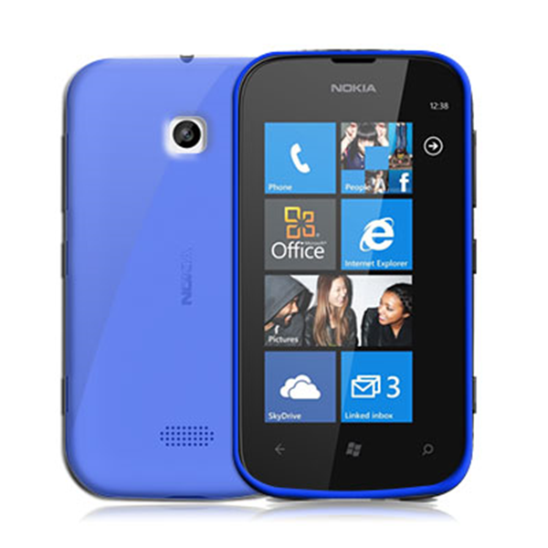 TPU COVER LUMIA 510 LIGHT BLUE