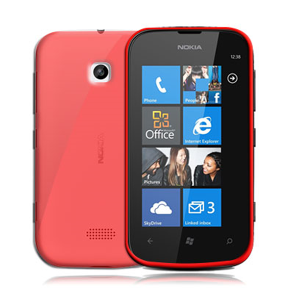 TPU COVER LUMIA 510 RED