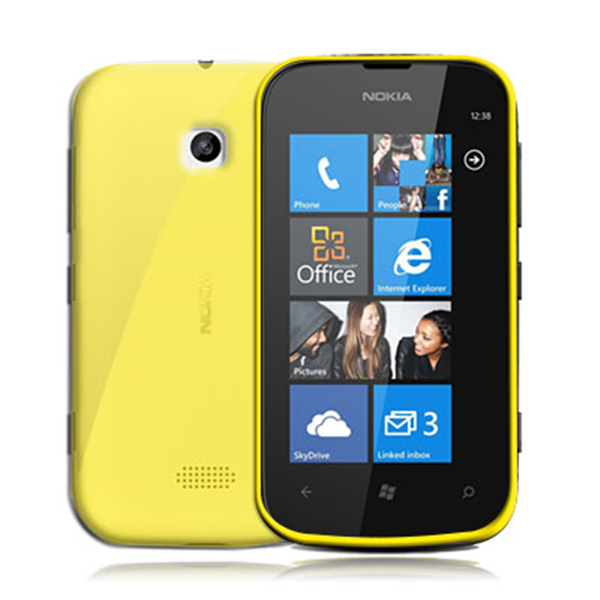 TPU COVER LUMIA 510 YELLOW