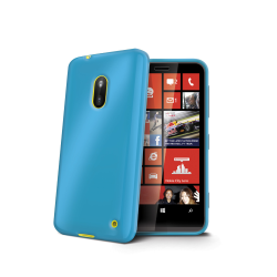 TPU COVER LUMIA 620 LIGHT BLUE
