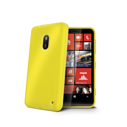 TPU COVER LUMIA 620 YELLOW