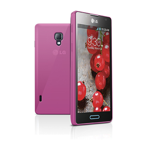 TPU COVER OPTIMUS L7 II PINK