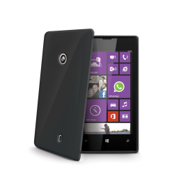 TPU COVER LUMIA 520 FUME