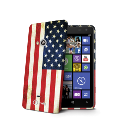 USA FLAG TPU LUMIA 625