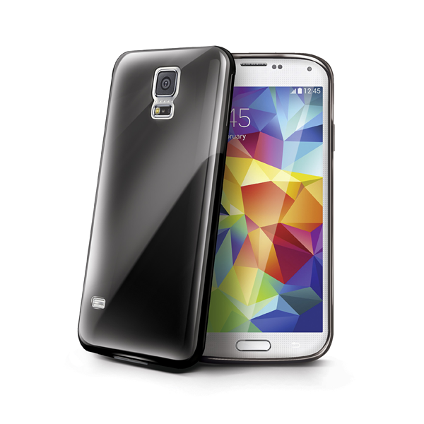 TPU COVER GALAXY S5 BLACK