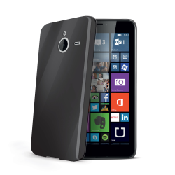 TPU COVER LUMIA 640 XL BLACK