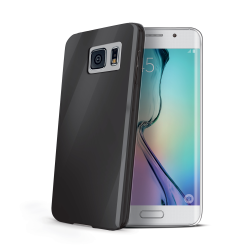 TPU COVER GALAXY S6 EDGE BLACK
