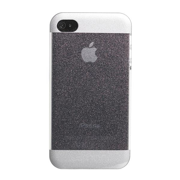 GLITTER COVER WHITE IPHONE 4S/4