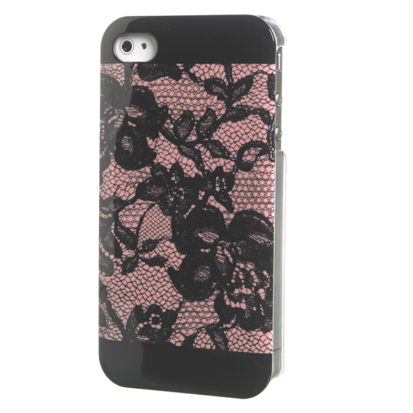 LACES COVER PINK IPHONE 4/4S